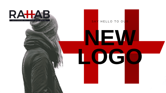 "A blog header image saying ""Say Hello To Our New Logo"""